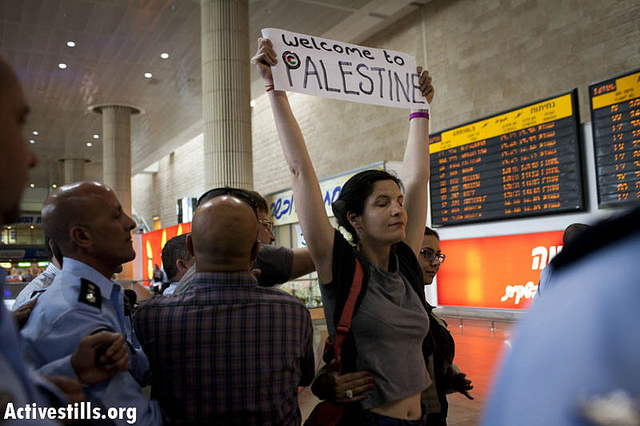 Arrest. Live from Tel Aviv - by Activestills