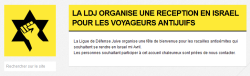 Call on the website of  LDJ France (Click to enlarge)